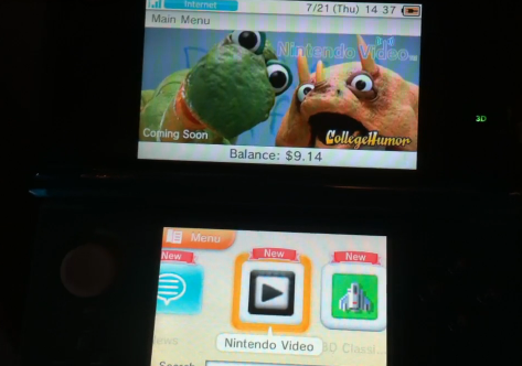 blogwell:  dinosauroffice:  I'm just going to leave this here.  3DS owners are in for a treat tonight!  Shhhhhhhh