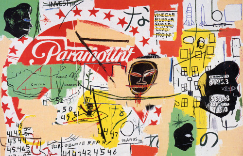 threeoverten:  Paramount - Andy Warhol and Jean Michel Basquiat