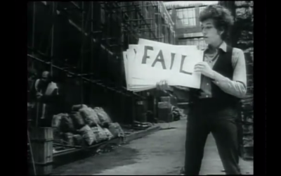 The Best Thing I've Seen Today: Bob Dylan Invented 'Fail'!