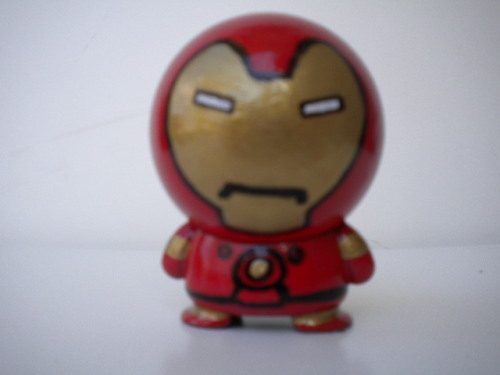 custom Ironman made from marvel big head