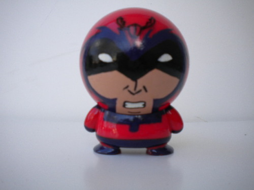 custom Magneto made from Marvel big head
