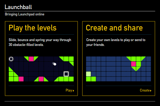 Launchball from the Science Museum is a cool physics game. #scichat #elemchat #spedchat #physics Levels can be created and shared. You must register to share and save but it is not required to play. Added to  Sensational Science Sites