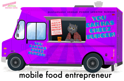 hipster-animals:  mobile food entrepreneur