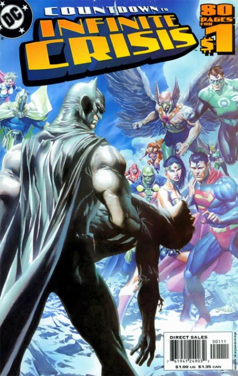 Countdown to Infinite Crisis #1 (with Alex Ross)