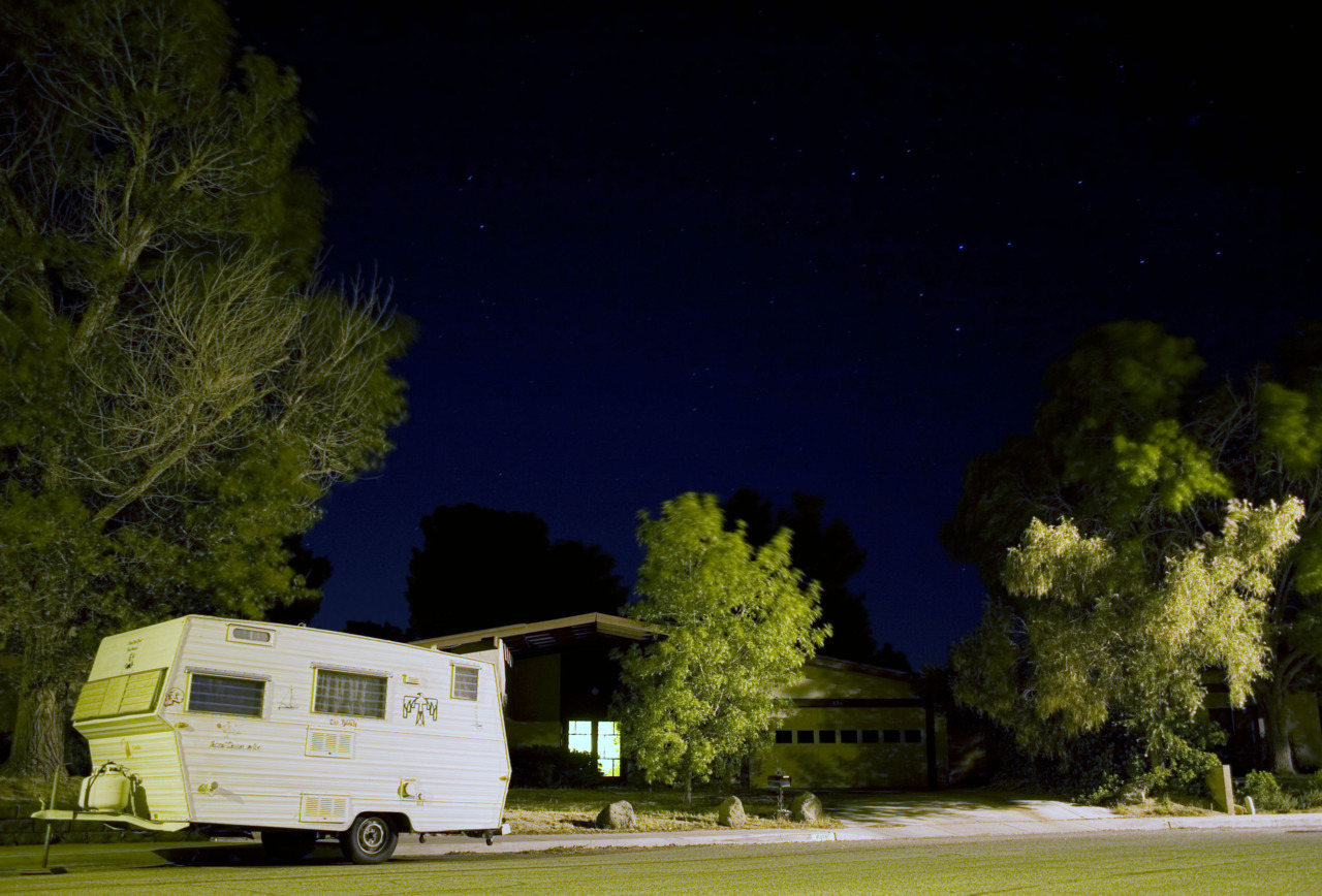 Last night in Ridgecrest. I miss the stars already. July 2011