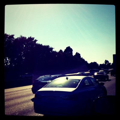 "nakeva:  #Celebrity Social. Justin Bieber tweets Instagram Pic of L.A. traffic, and its now the best thing ever. Everyone else tweets traffic, flowers, drinks, kids, ugly shoes and the rest of the world is like, ""Whatever dude."" If you need your next tech startup to really sell…get Bieber. But don't be boring; Add his girlfriend too. Run a BieLev campaign. [Yeah, I said that] (Image via Instagram)"