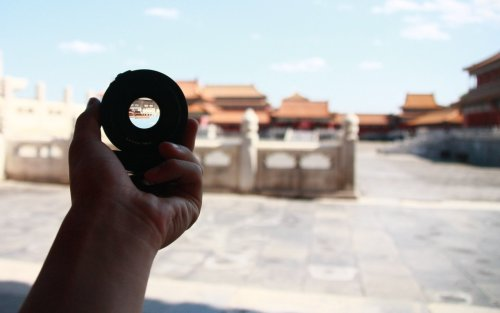 hutima:  We all view the world through some sort of lens— (Beijing, Forbidden City)  this is gorgeous! *___*