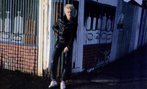 magazinecutoutsfromwaybackwhen:  Billy Idol