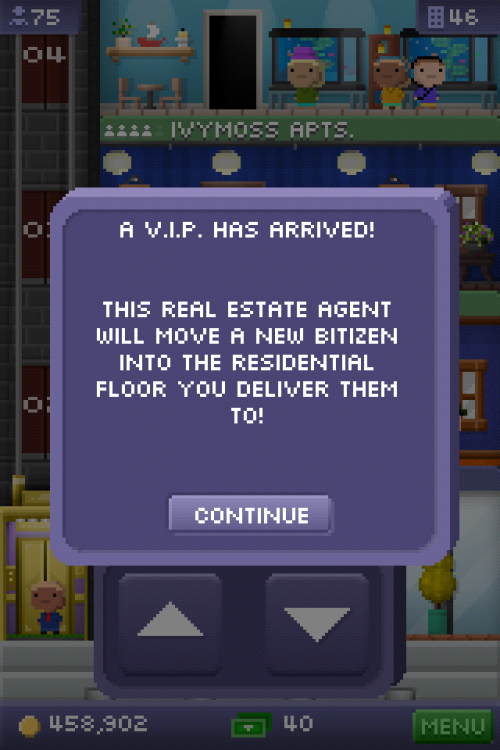 A new type of VIP was added in the update, keep an eye out for this guy!