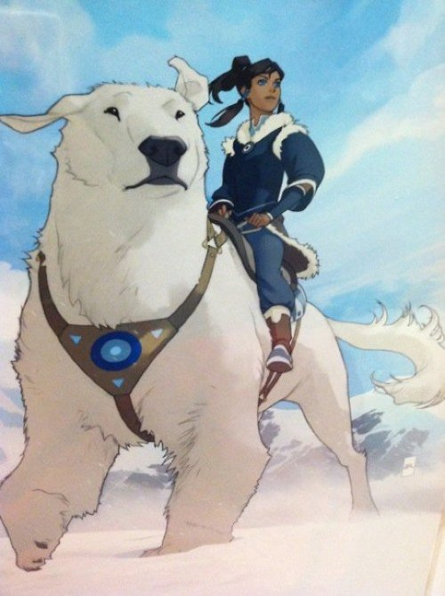 Concept art from Avatar: The Legend Of Korra Artist Unknown