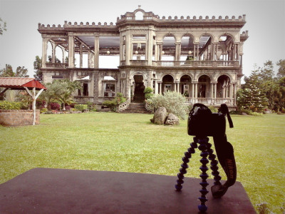Mistress in Action at The Ruins, Talisay, Negros Occidental