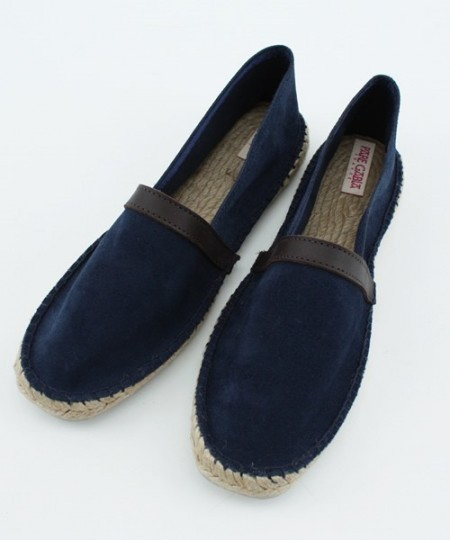 Pare Gabia Suede Leather Slip-On