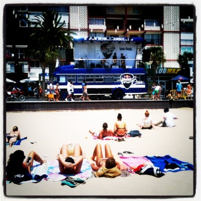 Concert at the beach! (Taken with instagram)