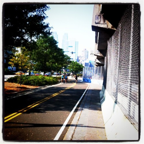 Wait #bikenyc #bikepath  (Taken with instagram)