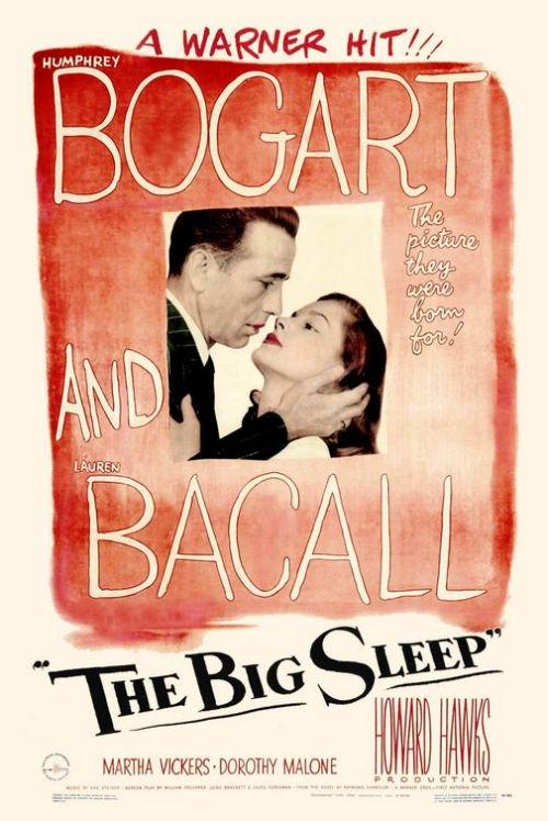 The Big Sleep (1946) P365 Film #200 This is a fairly typical film-noir from the 40s, with the only major difference for me being that it was much more complex and convoluted than any other of its type that I've seen. There were so many characters' names to remember as well as their relationships to each other and what each one wanted - I honestly couldn't keep up. I'm not sure if this makes it brilliant or terrible. Nor which one it makes me. Forgetting the storyline, it was still a really great film. It was shot well and Humphrey Bogart was his usual super-cool private detective. So, yeah, it was good, but not my favourite film-noir, nor my favourite film-noir with Bogart - that probably goes to The Maltese Falcon (1941).