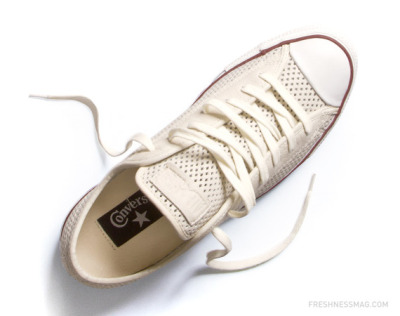 More summertime kicks, Converse Chuck Taylor All Star Perforated (via Freshness)