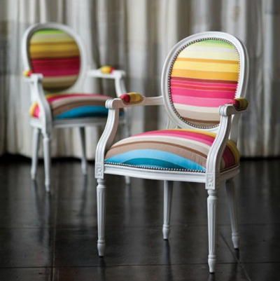 emitandexude:  New inspiration: Classic Chair in Vibrant Colors by New Inspiration Home Design on Flickr.