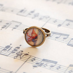 Little Red Riding Hood Adjustable Ring