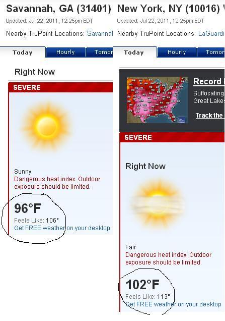 Dear New York, Stop being hotter than where I use to live.  Thanks,Mike ps- I only have MSPaint on my work computer.  Sorry y'all.