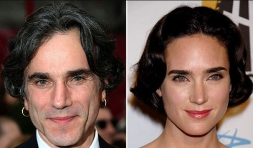 buzzfeed:  Daniel Day Lewis & Jennifer Connelly [21 Celebrity Doppelgangers]
