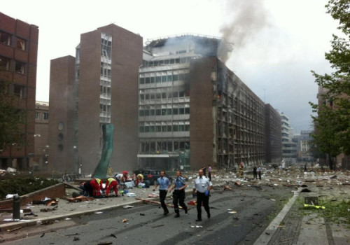 Oslo explosion aftermath. We're collecting more with Storify.