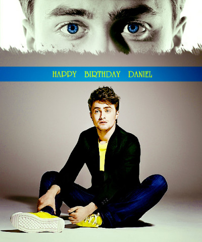 scorpiusmalfoys:    HAPPY BIRTHDAY DANIEL RADCLIFFE ♥ (23/7/11)