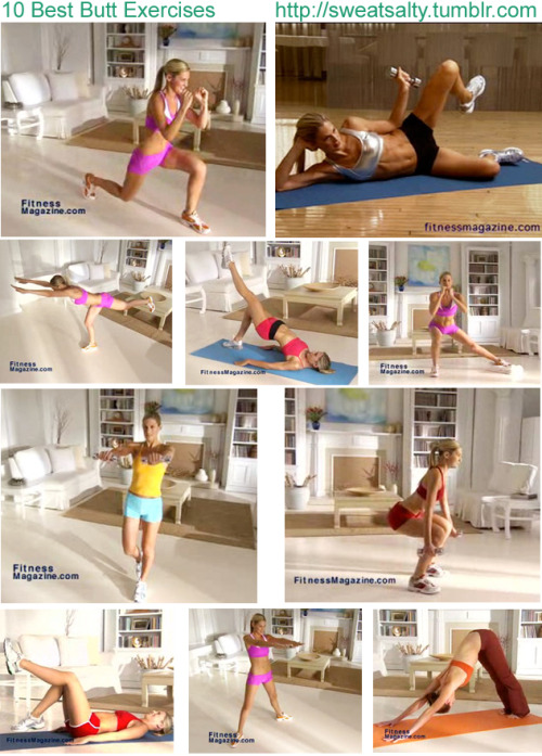 Top 10 Moves to Tone Your Butt