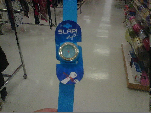 Slap it style watch!