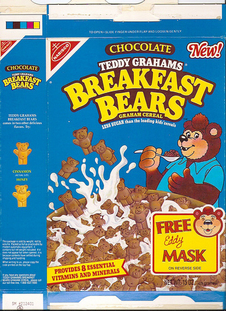 Breakfast Bears Cereal Source: Flickr
