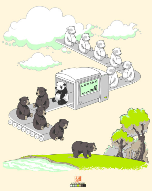 How pandas were created (via afternoonsnoozebutton)