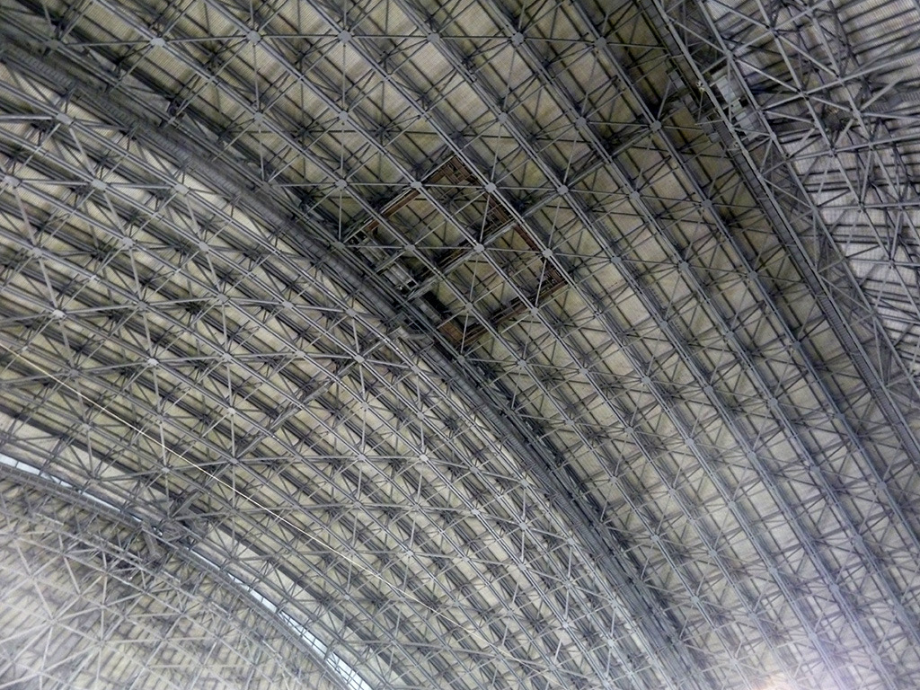 The SkyDome roof, Toronto.