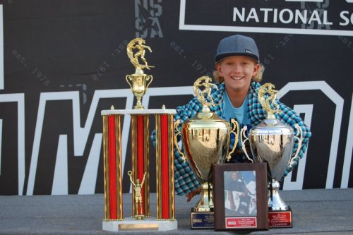 Jake Marshall dominated all the other groms at the NSSA State Champs.