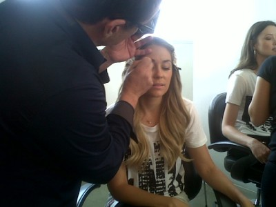 Behind the scenes with @LaurenConrad @fnoLosAngeles PSA shoot!! Follow us on twitter for more live streaming tweets…