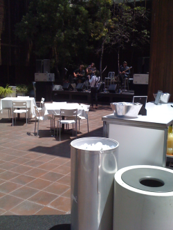 Never Shout Never sound check at Warner Brothers!! #Buzznet