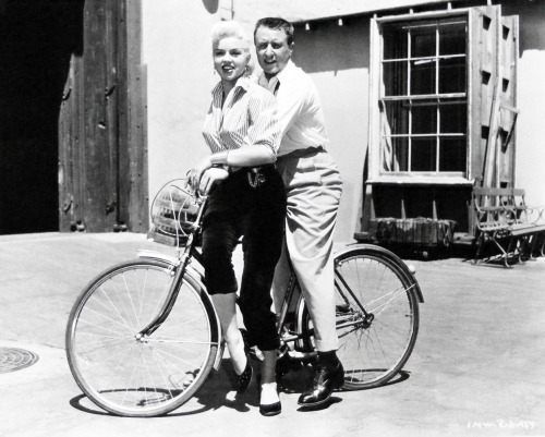 Diana Dors and George Gobel 1957
