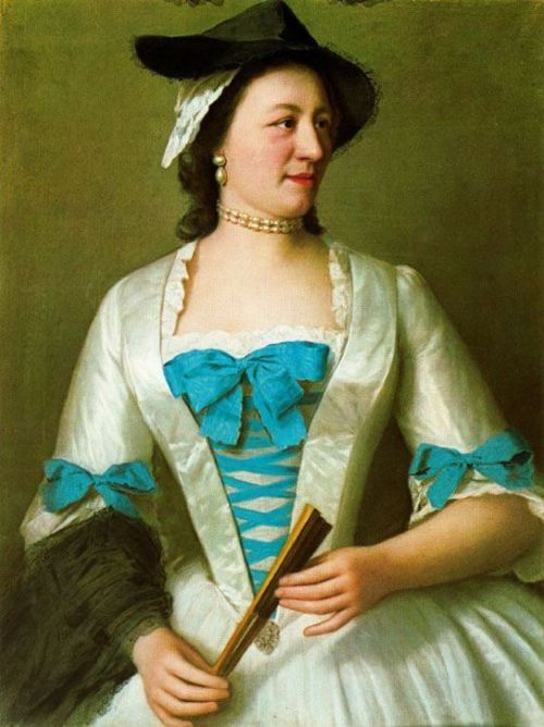 Lady Tyrell by Jean-Étienne Liotard, 1738-42 UK