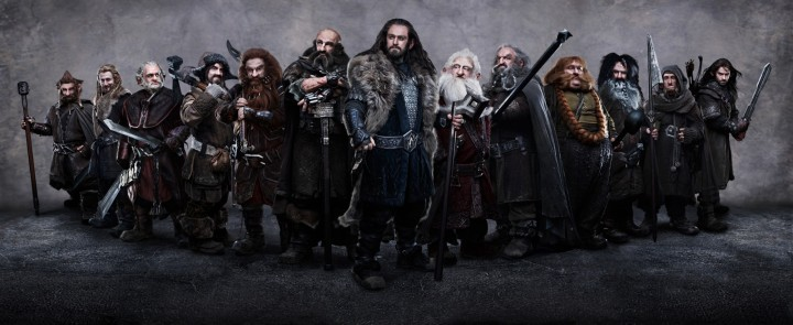 Los 13 enanos de The Hobbit.  The Hobbit: Part 1