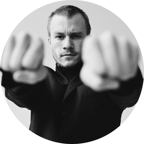 minimalistco:  Heath Ledger by Ben Watts