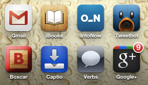 Is it just me, or did the Gmail iOS (web app) icon just get much, much better? I previously refused to put it on my homescreen because it looked like shit on the iPhone 4 screen. Now it looks good. Too bad I don't use email anymore…