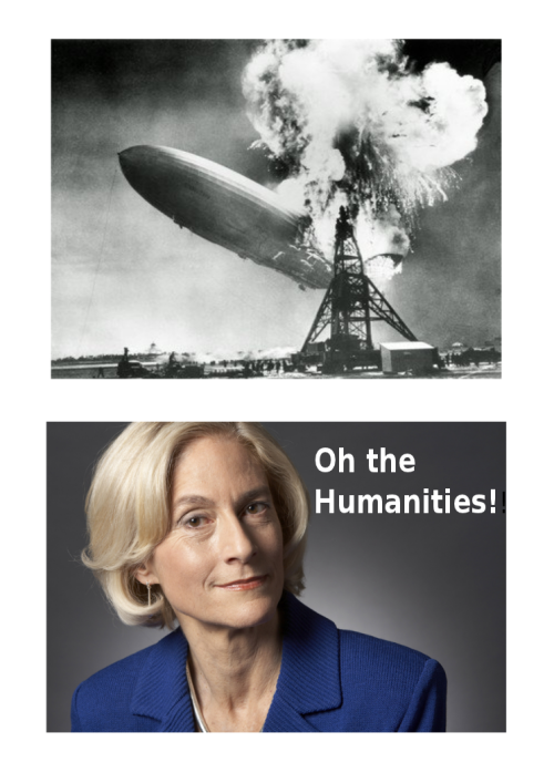 "Martha Nussbaum ""Oh the Humanities"" http://www.amazon.com/Not-Profit-Democracy-Humanities-Public/dp/0691140642"