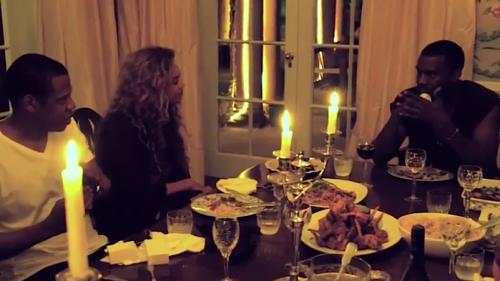 i can't even imagine being apart of this dinner conversation. too much epic-ness at one table.