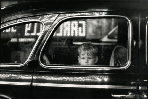liquidnight:  Elliott Erwitt Pittsburgh, 1950 From Elliott Erwitt: Personal Exposures