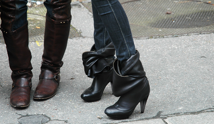 the-edge-of-the-sea:  Tanya D's Sonia Rykiel boots  love it.