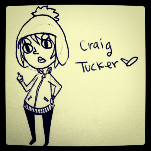 Who wouldn't love Craig Tucker? ;) (Taken with instagram)