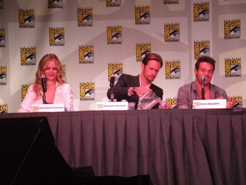 Obviously.  True Blood Panel @ Comic Con 2011