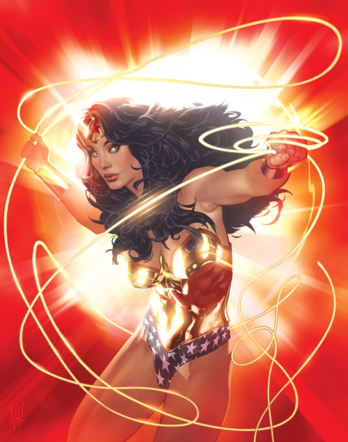Wonder Woman - by Adam Hughes