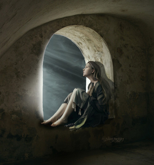 fathershane:  facflickrfavorites:  The Annunciation by phatpuppycreations on Flickr.  This is actually a pretty neat rendering… They say the Annunciation is the most-depicted subject in the history of Western art.