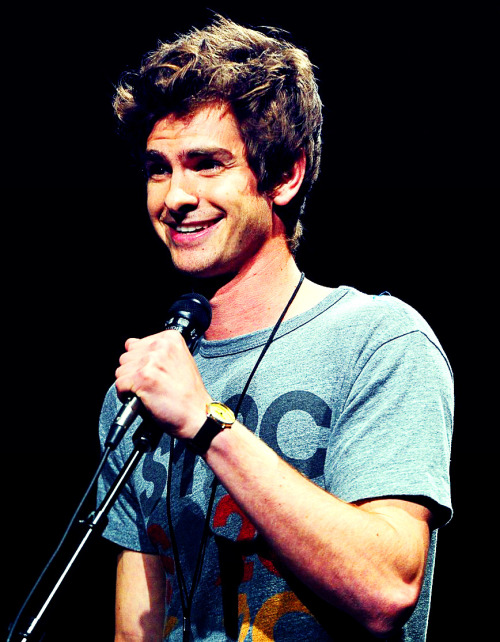 Andrew Garfield @ The '11 Comic-Con