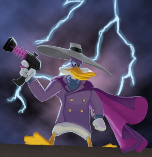 elyshatheriddell:  Darkwing Duck by  Joshua Otero