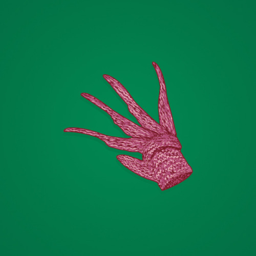 """christmas glove.""he sees you when you're sleeping…"